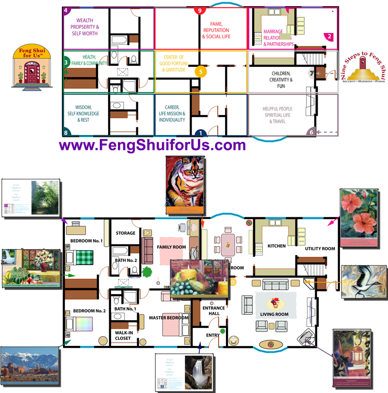 feng shui bagua map life areas map nine steps to feng shui. Black Bedroom Furniture Sets. Home Design Ideas