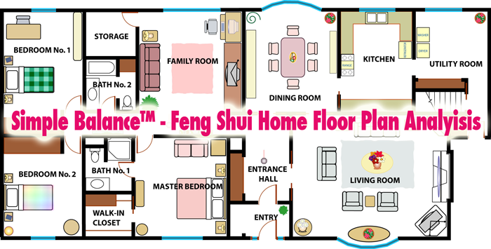 Feng shui flooring design decoration for Feng shui in building a house