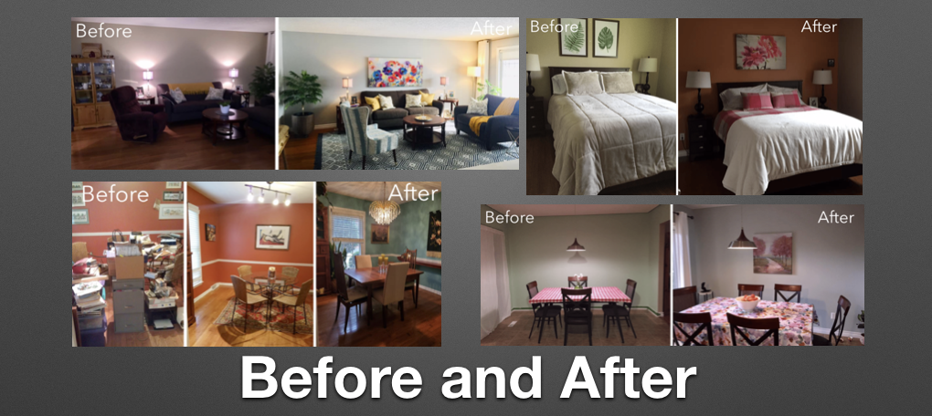 Feng Shui Before and After Photos